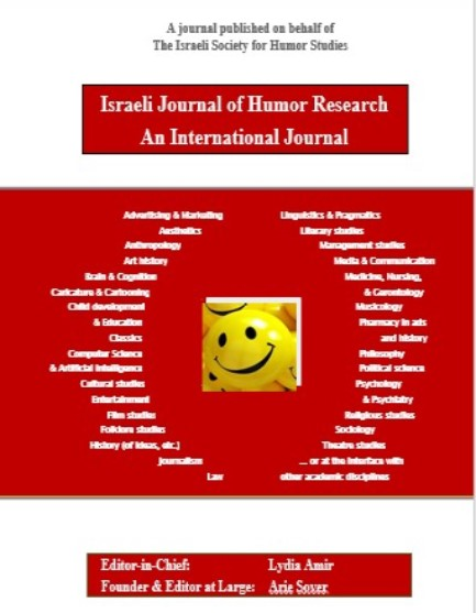 The Israeli Journal of Humor Research